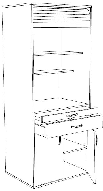 офисная кухня, мини-кухня для офиса, недорогая компактная кухня