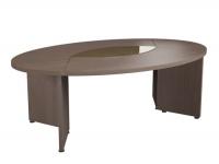 Стол для заседаний овальный, 2200х1400х760