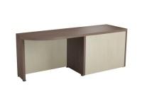 Боковой приставной стол левый, 1800х560х692